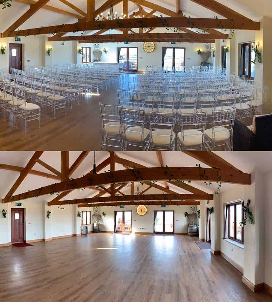 Benefits of a blank canvas venue