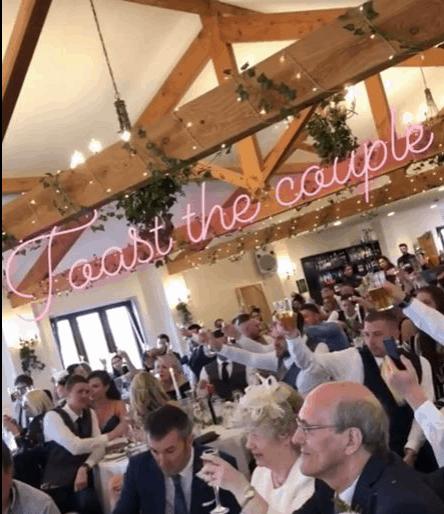 Toast the Couple